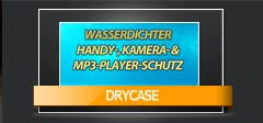 DryCase Wasserdichter Handy-, Kamera- & MP3 Player Schutz